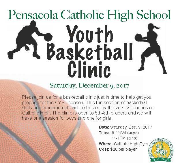 CHS Basketball Clinic Flyer 2017