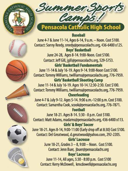 CHS Sport Summer Camps Flyer 2018